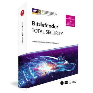 BITDEFENDER TOTAL SECURITY (3PC+3PC GRATIS)